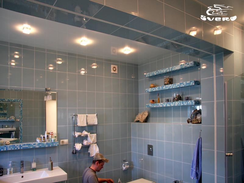 Полки из гипсокартон в ванной комнате своими руками